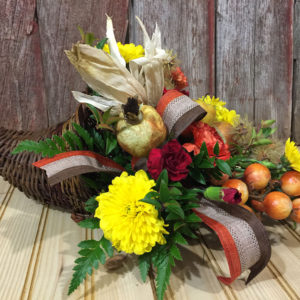 Giving Thanks Thanksgiving Centerpiece
