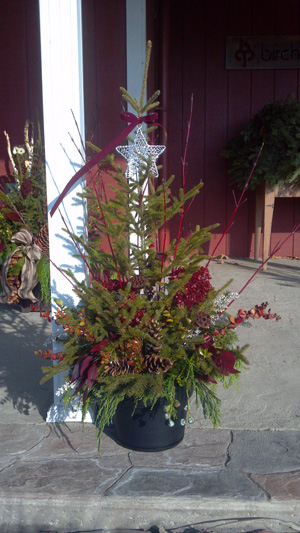 Outdoor Christmas Containers