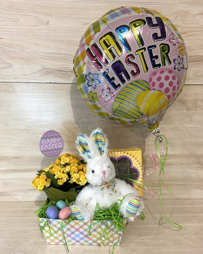 Blooming Plant Easter Basket